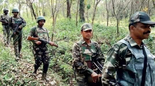 Naxal-Operation-indian-forces Gyanchuski